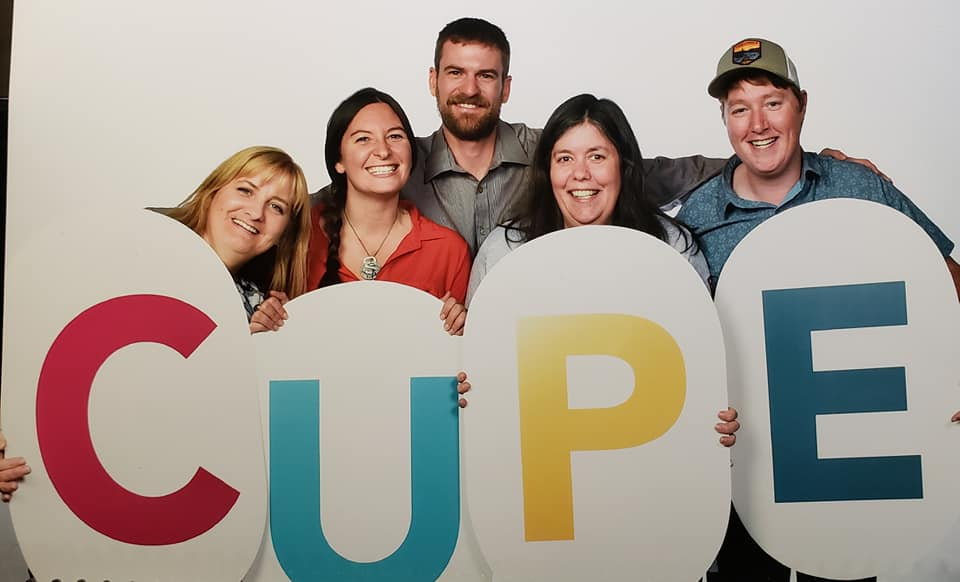 CUPE Sign Photo
